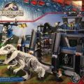 lego jurassic world мини